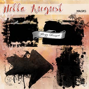 Hello August {Mask PU} by Florju Designs