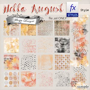 Hello August {Style .asl PU} by Florju Designs