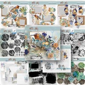 Hello July {Bundle PU} by Florju Designs