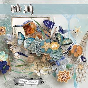 Hello July {Kit PU} by Florju Designs