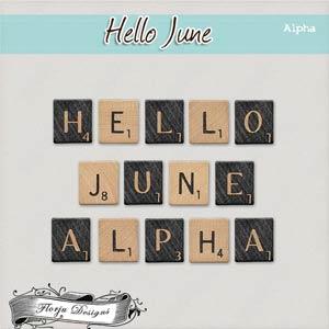 Hello June { Alpha PU } by Florju Designs