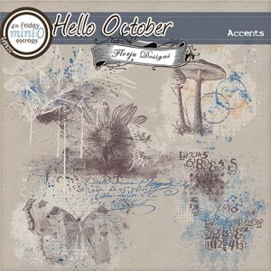 Hello October  { Accents PU } by Florju Designs