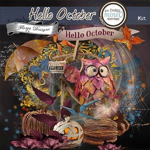 Hello October  { Elements PU } by Florju Designs