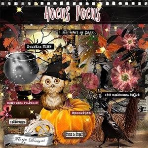 Hocus Pocus { Kit PU } by Florju Designs
