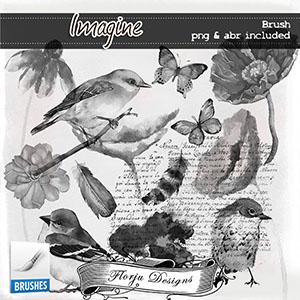 Imagine { Brush PU } by Florju Designs