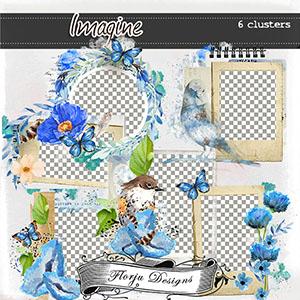 Imagine { Clusters PU } by Florju Designs