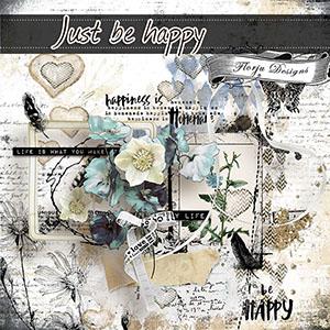 Just Be Happy { MINI kit PU }