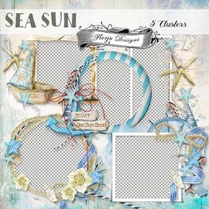 Sea Sun { Clusters PU } by Florju designs