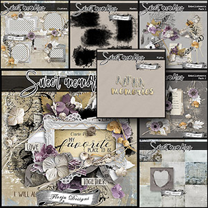Sweet memories { Collection PU } by Florju Designs