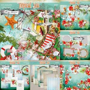 Tropical Sea { Bundle PU } by Florju Designs