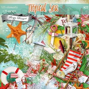 Tropical Sea { Kit PU } by Florju Designs