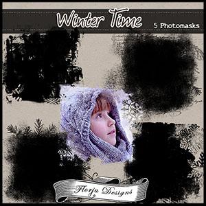 Winter Time { Masks PU } Florju Designs