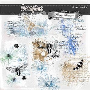Imagine { Accents PU } by Florju Designs