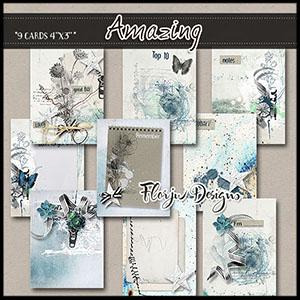 Amazing Journaling Cards 4x3