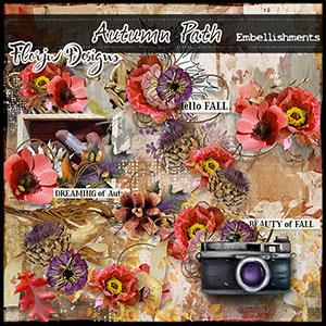 Autumn Path Embellishments