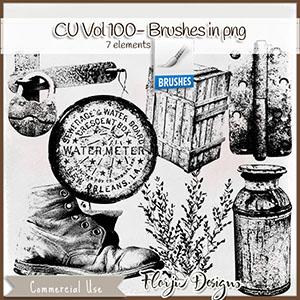 Cu Vol 100 Mix Brush