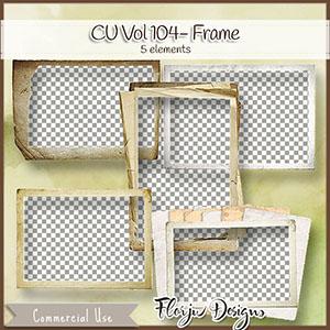 Cu Vol 104 Paper Frame