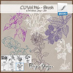CU vol 146 Flowers Brush
