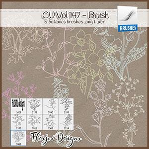 CU vol 147 Flowers Brush