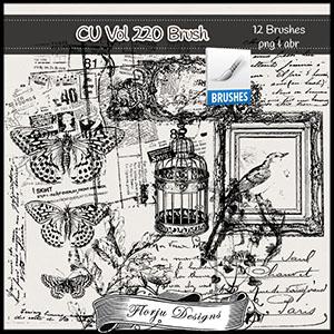 CU vol 220 Brush by Florju Designs
