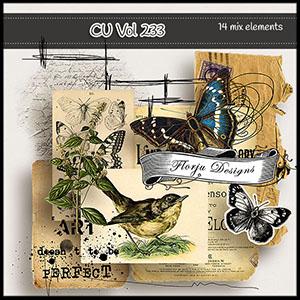 CU vol 233 Mix pack by Florju Designs