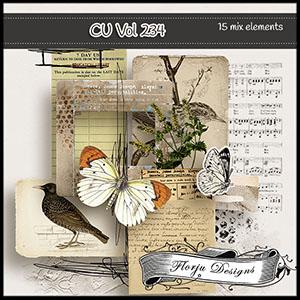 CU vol 234 Mix pack by Florju Designs