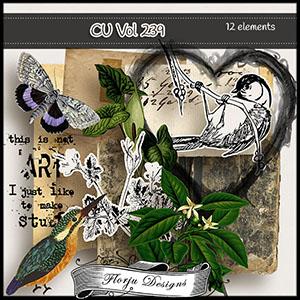 CU vol 239 Mix pack by Florju Designs