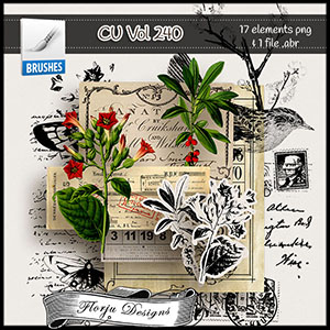 CU vol 240 Mix pack by Florju Designs