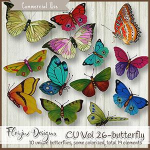 Cu Vol 26 Butterfly