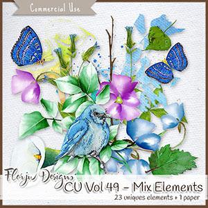 CU vol 49 Painted flower