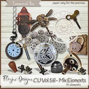 Cu Vol 58 Mix elements