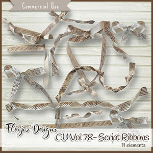 Cu Vol 78 Script Ribbons