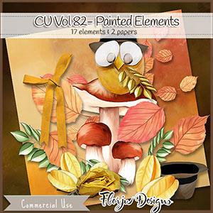 Cu Vol 82 Painted Elements