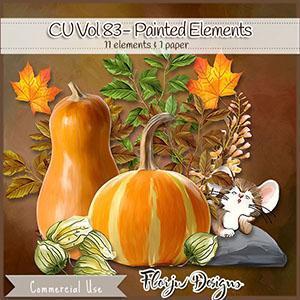 Cu Vol 83 Painted Elements