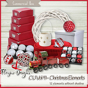 Cu Vol 91 White and Red Christmas