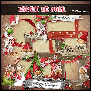 Esprit de Noël Clusters