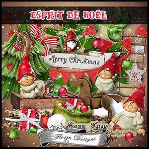 Esprit de Noël Full Kit