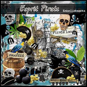 Esprit Pirate Embellishments