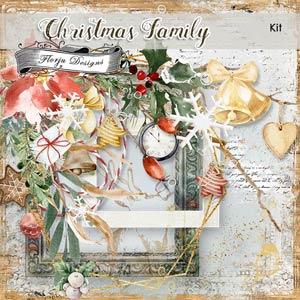 Christmas Family Kit PU by Florju Designs