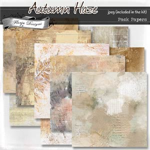 Autumn Haze { Papers of the kit PU } by Florju Designs