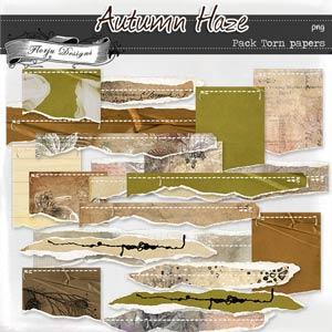 Autumn Haze { Torn papers PU } by Florju Designs