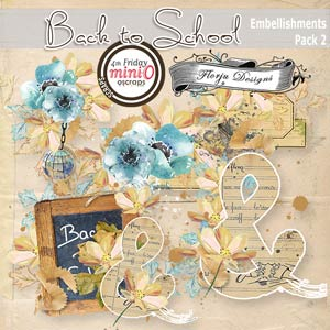 Back to School [ Embellishments Pack 2 PU ] by Florju Designs