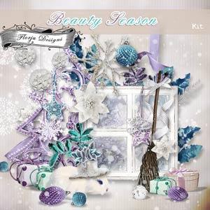 Beauty Season [ Kit PU ] by Florju Designs