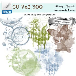 CU vol 300 Artsy Brush { Florju Designs }