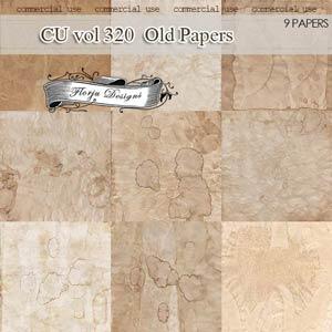 CU vol 320 Vintage Papers by Florju designs