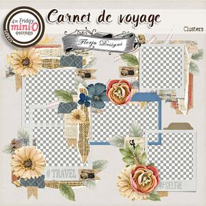 Carnet de Voyage { Cluster PU } by Florju designs