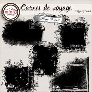 Carnet de Voyage { Mask PU } by Florju designs