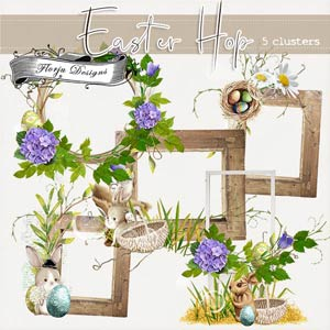 Easter Hop [ Cluster PU ] by Florju Designs