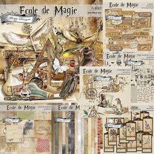 Ecole de magie Bundle PU by Florju Designs