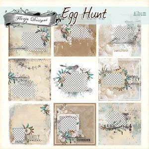 Egg Hunt [ Album PU ] by Florju Designs
